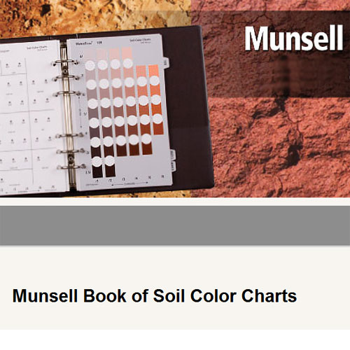 x rite - Munsell Soil Color Book